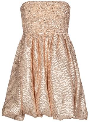 Caroline Constas Bianca sequined strapless minidress