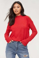 Ardene Cold Shoulder Mock Neck Sweater