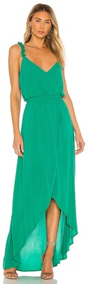 BB Dakota JACK by Ruffle & Cut Midi Dress. - size L (also
