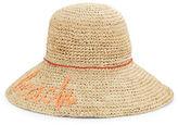 Echo Raffia Floppy Hat