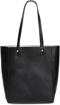 Mali & Lili Nicky North/South Vegan Leather Tote