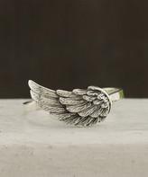 Kurt Geiger Silver Silver Women's Rings silver - Sterling Silver Angel Wing Ring