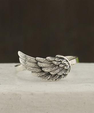 Kurt Geiger Silver Silver Women's Rings silver - Sterling Silver Angel Wing Ring