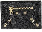 Balenciaga Zip Detail Credit Card Holder