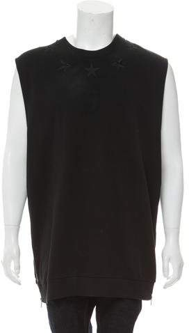 Givenchy Embroidered Star Sweatshirt