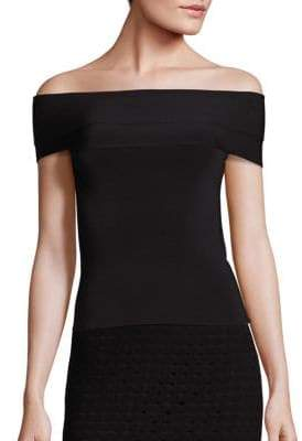 Alexander Wang Knit Off-the-Shoulder Top
