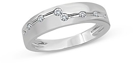 Bloomingdale's Men's Diamond Band in 14K Brushed White Gold, 0.20 ct. t.w. - 100% Exclusive