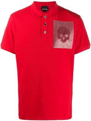 Just Cavalli Skull Polo Shirt