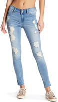 Seven7 Destructed Ankle Skinny Jeans