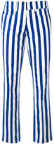 Dondup vertical stripe trousers - women - Cotton/Spandex/Elastane - 40