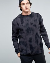 Quiksilver Tie Dye Knitted Sweater
