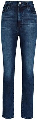 J Brand 1212 Runaway High-Rise Slim Straight Jeans