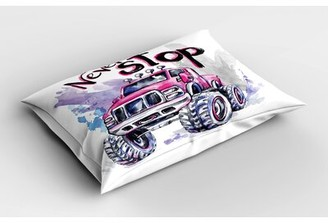 East Urban Home Truck Monster Truck Sham Size: Twin