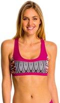 Prana Women's Feather Rainblur Isma Sports Bra Bikini Top 8136360