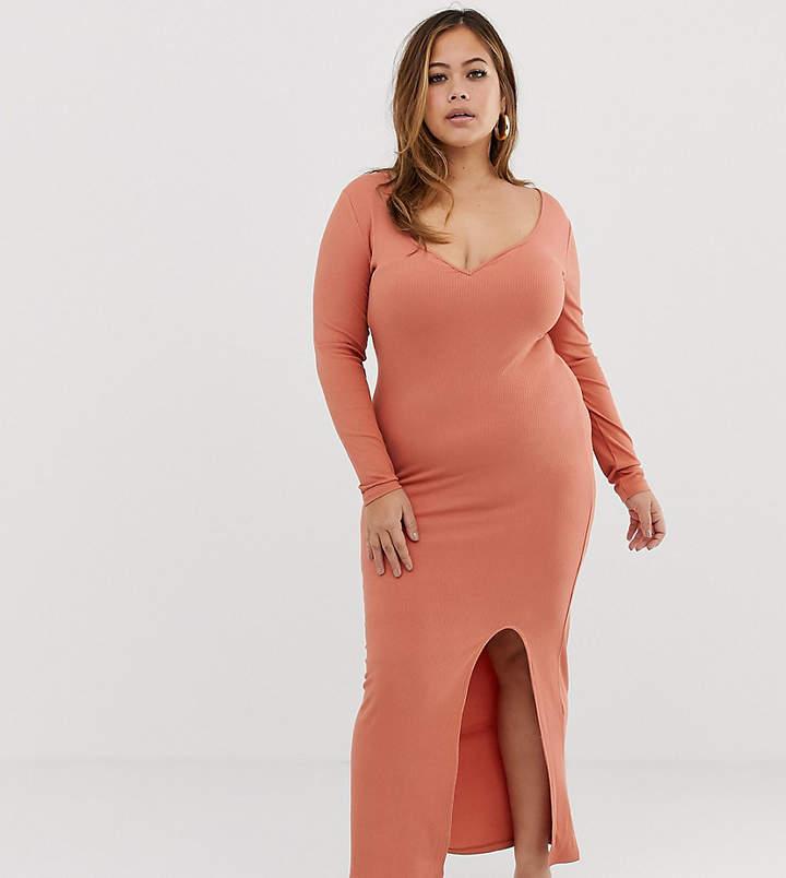 b0f13edde8b Ribbed Maxi Dress - ShopStyle