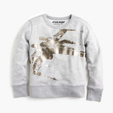 J.Crew Kids' Star WarsTM for crewcuts X-wing sweatshirt