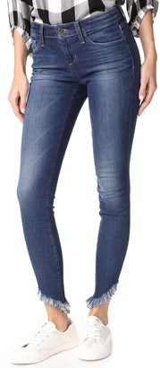 Joe's Jeans Women's Icon Midrise Frayed Hem Skinny Ankle Jean