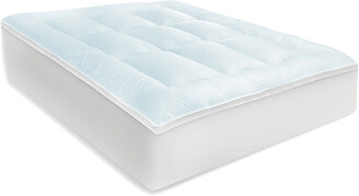 Sensorpedic Memory Cloud 3.5In Gel-Infused Memory Foam And Fiber Mattress Topper