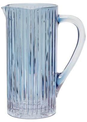 Luisa Beccaria Iridescent Glass Jug - Blue
