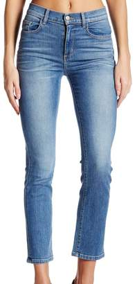 Siwy Women's Jackie High Rise Crop Straight Jean in Call 24