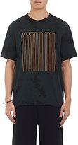 Alexander Wang Men's Bar-Code Cotton Jersey T-Shirt-BLACK