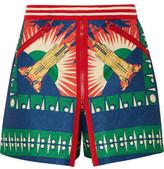 Anna Sui Reversible Jacquard Mini Skirt
