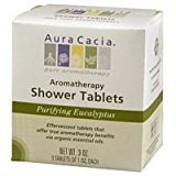 Aura Cacia 188266 Purifying Aromatherapy Shower Tablets Eucalyptus 3 Tablets