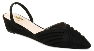 Journee Collection Kato Wedge Pump