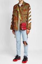 Off-White Camouflage Cotton Jacket