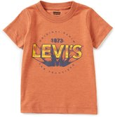 Levi's s Little Boys 2T-7 Graphic Crew Neck Short-Sleeve Tee