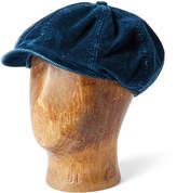 Ralph Lauren Corduroy Newsboy Cap