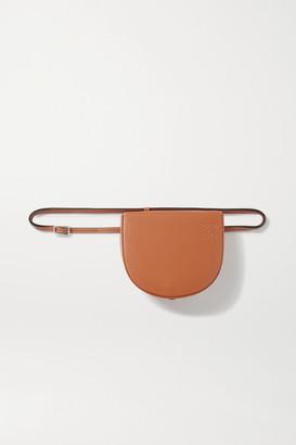 Loewe Heel Leather Belt Bag - Tan