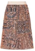 Coach X Keith Haring embellished skirt