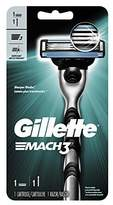 Gillette Mach3 Men's Razor, Handle & 1 Blade Refill