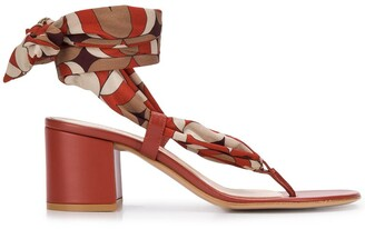 Gianvito Rossi Wrap Style Sandals