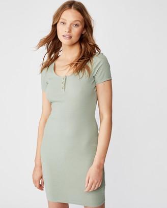 Cotton On Gabby Short Sleeve Mini Dress