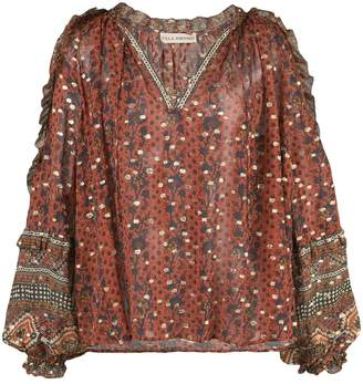 Ulla Johnson Calista floral print blouse