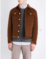 Brunello Cucinelli Silk-blend Corduroy Trucker Jacket