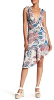 Zadig & Voltaire Root Asymmetrical Printed Dress