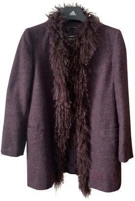 Castiglioni Purple Fur Coats