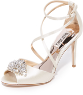 Badgley Mischka Tatum Peep Toe Sandals