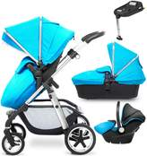 Silver Cross Pioneer Chrome Complete Travel System and Simplifix Base