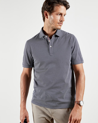 Ted Baker LIMBO Geo polo top