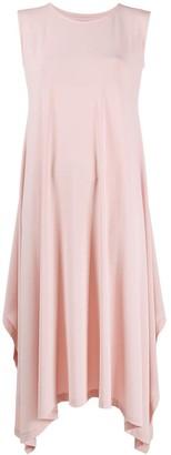 Issey Miyake Flared Sleeveless Midi Dress