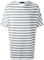 Diesel Black Gold striped boxy T-shirt - men - Cotton - M