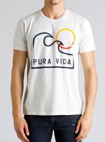 Junk Food Clothing K38 Pura Vida Tee-salt-xxl