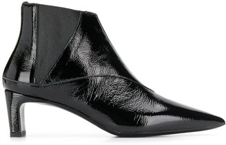 McQ patent ankle boots