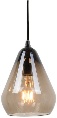 Innermost Core Large Pendant, Smoked Glass