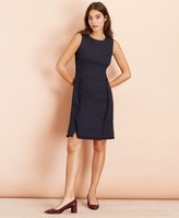 Brooks Brothers Cotton-Blend Shimmer Boucle Sheath Dress