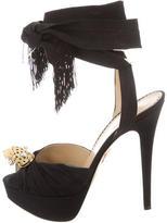 Charlotte Olympia Cheetah Platform Sandals